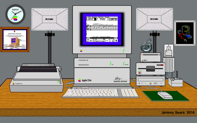 Jeremy Sears' IIGS Illustration