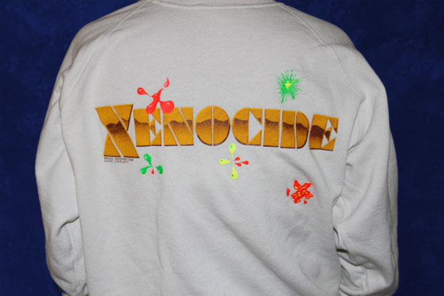 Promotional T-shirt for Xenocide